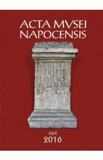 ACTA MVSEI NAPOCENSIS 53 / I