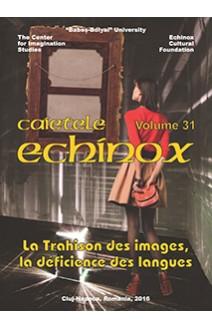 CAIETELE ECHINOX. VOLUME 31 / 2016