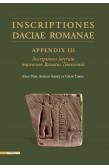 INSCRIPTIONES DACIAE ROMANAE APPENDIX III