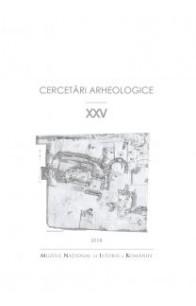 CERCETĂRI ARHEOLOGICE NR. XXV