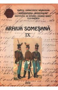 ARHIVA SOMEŞANĂ REVlSTĂ DE lSTORlE Şl CULTURĂ . IX